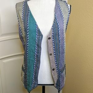 Boho 100% India Cotton Vintage Vest